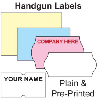 Price Gun Labels