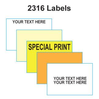2316 Labels