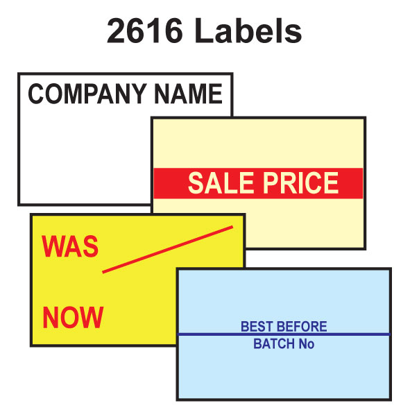 CT7 26 x 16mm Labels