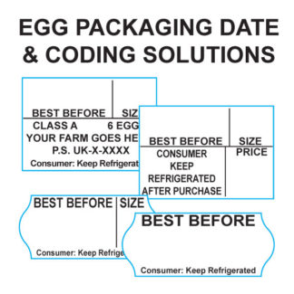 Egg Box Label Coding
