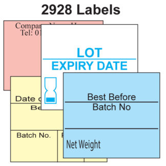 CT10 29 x 28mm Labels