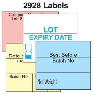 CT10 29 x 28mm Labels