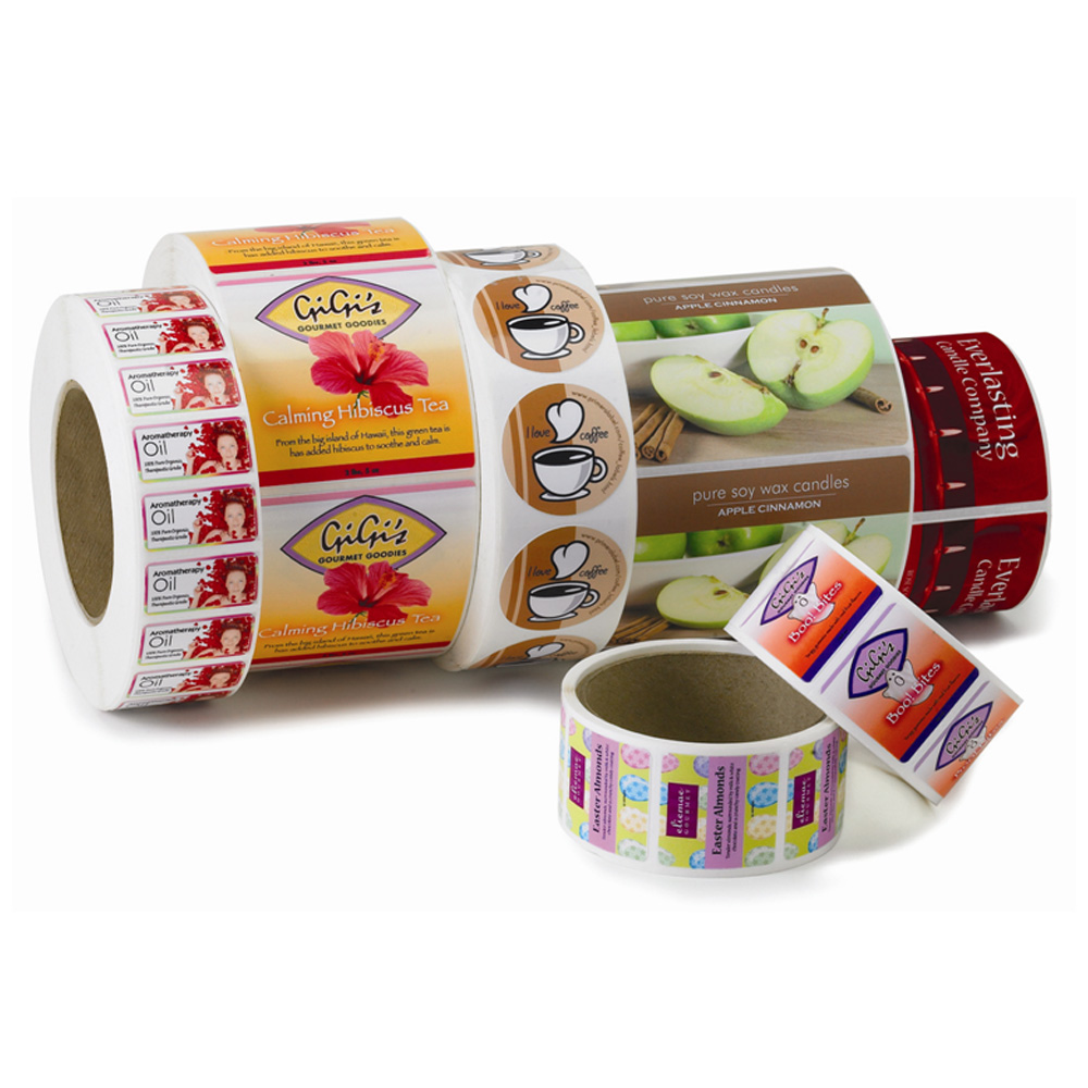 labels on rolls - die cut labels on rolls