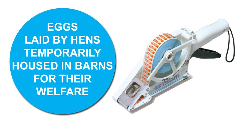 Free Range Egg Labelling for Bird Flu - advisory labelling chage