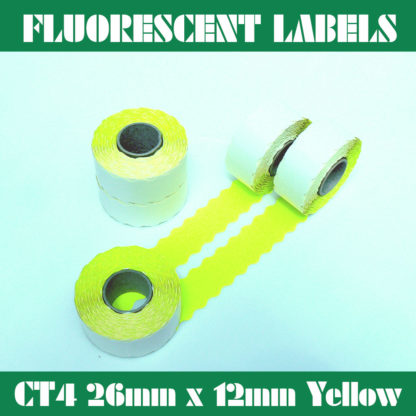 Flourescent-Labels-CT4-26mm-x-12mm-Fluoro-Yellow