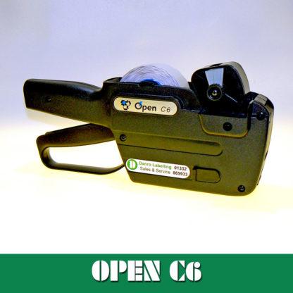 Open Data C6 Label Gun