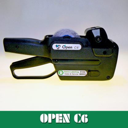 Open Data C6 Labelling Gun