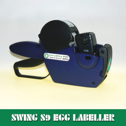 Swing S9 Egg Packing Station Labelling Gun