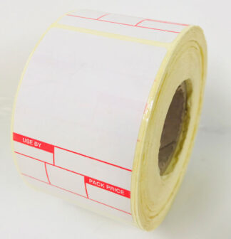 Avery Berkel Scale Labels 49 x 74mm Format 2 USE BY / Pack Price Labels