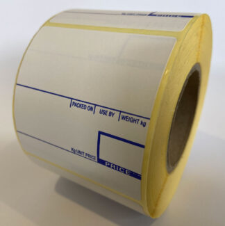 CAS 58 x 60mm Printed Scale Labels