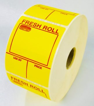 Fresh Roll Sandwich Labels from our large range of sandwich labelling products