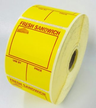 Fresh Sandwich Labels from our large range of sandwich labelling products