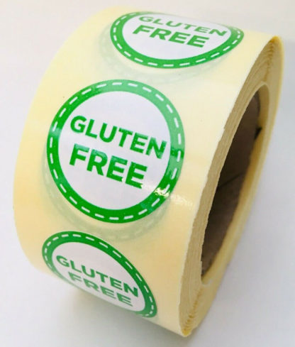 Gluten free labels - food labelling