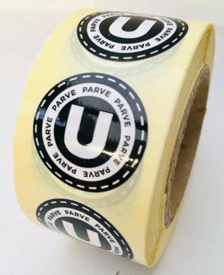 Parve Labels - 25mm diameter